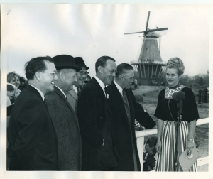 Prince Bernhard at Windmill Island