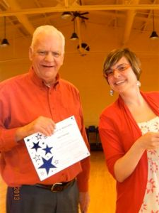 Bob was one of our top 5 volunteers from 2012!
