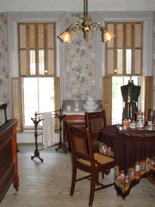Guest Room/Sewing Room in the Cappon House